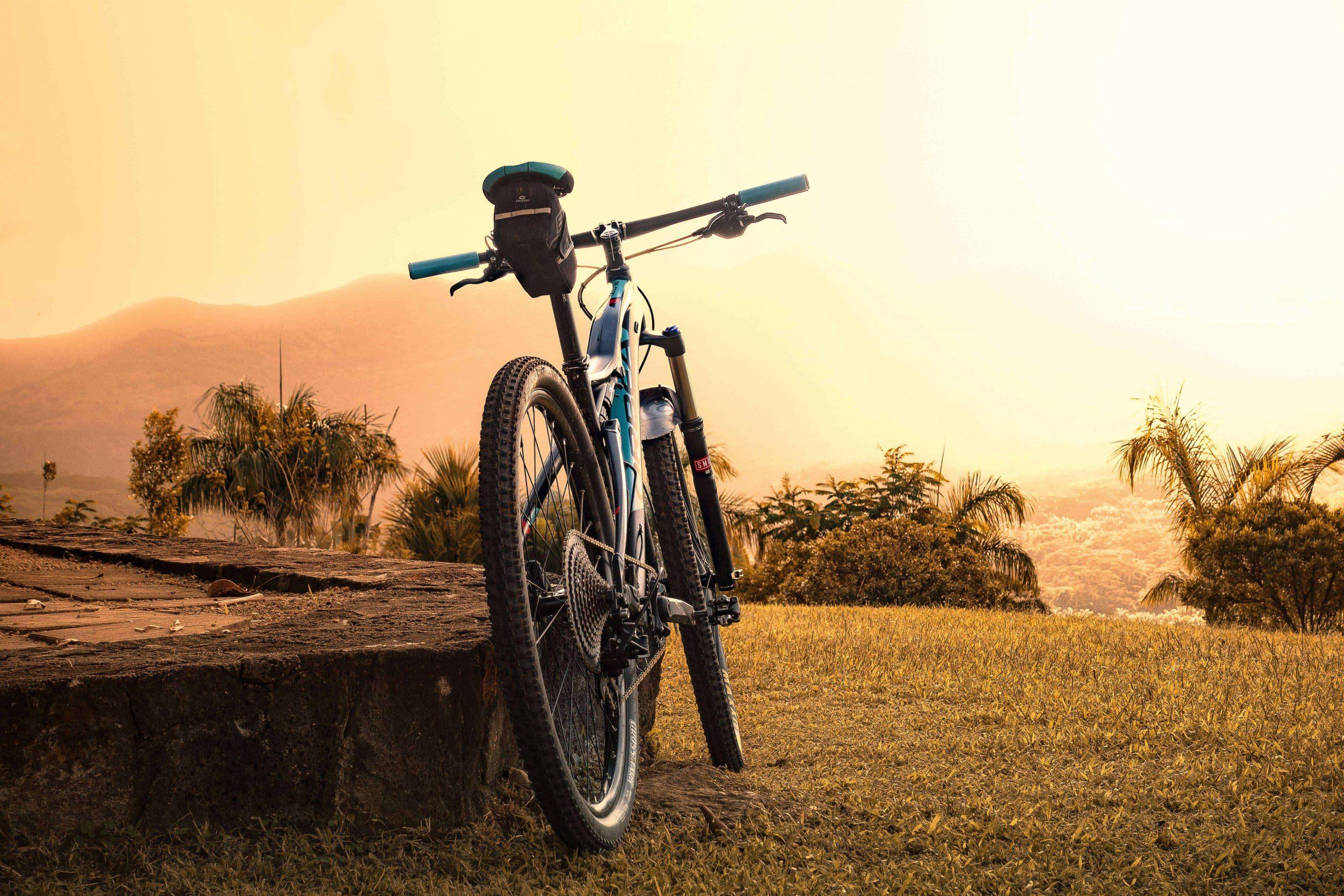 e bike verleih siegen - sonnenuntergang